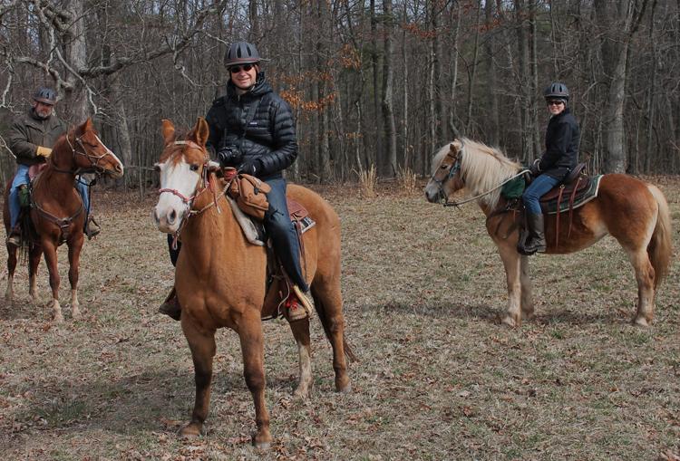 On-site Horseback riding at Omni Bedford Springs Resort. Saturday and Sundays