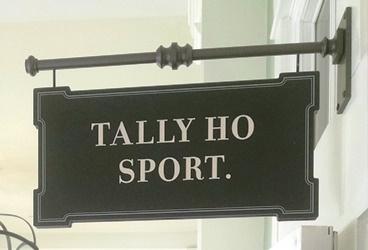 Tally Ho Sign
